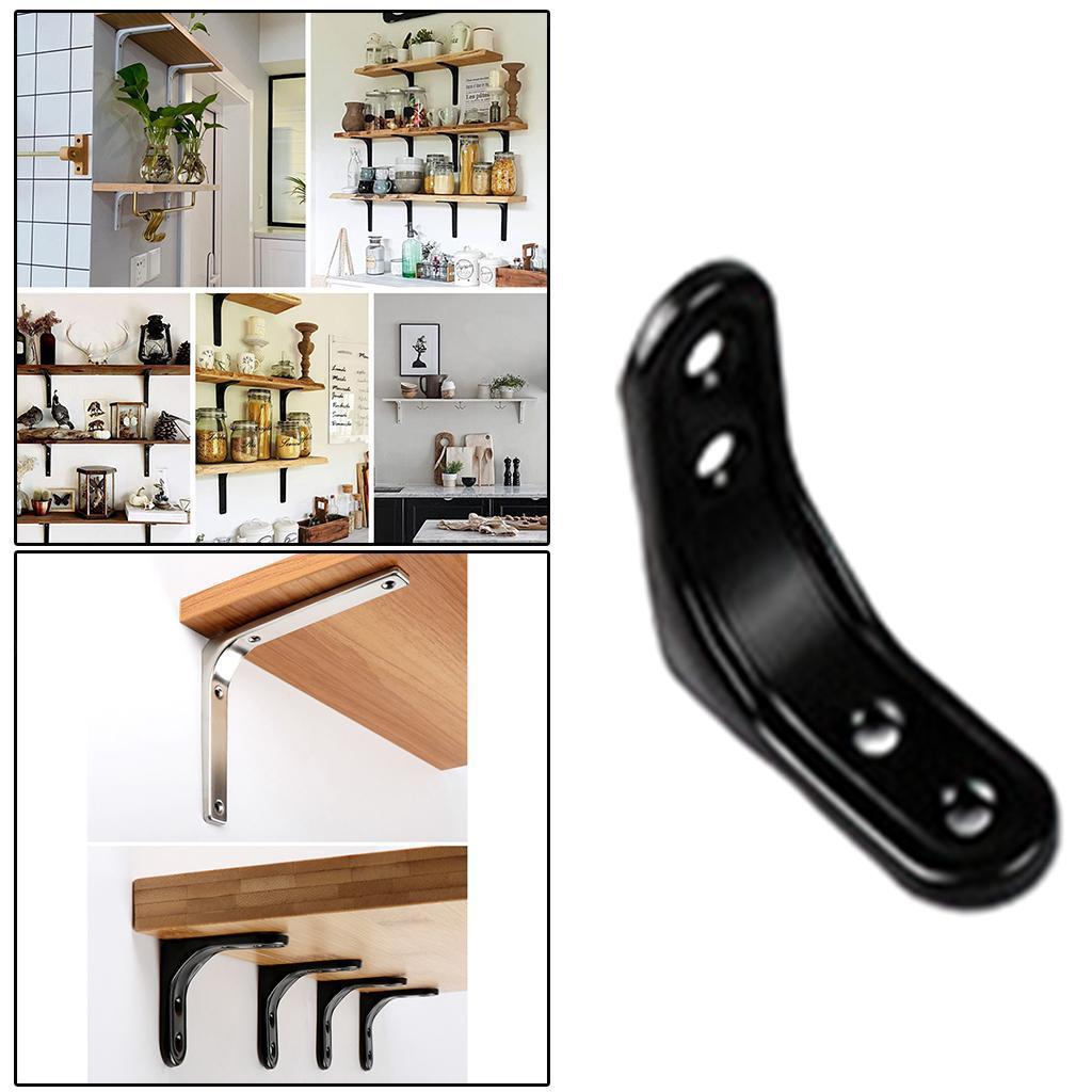 thumbnail 7 - Shelf   Floating Shelves Tripod Triangle Shelf Brackets for Bathroom