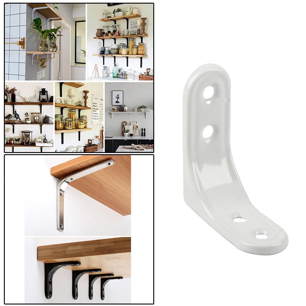 thumbnail 90 - Shelf   Floating Shelves Tripod Triangle Shelf Brackets for Bathroom