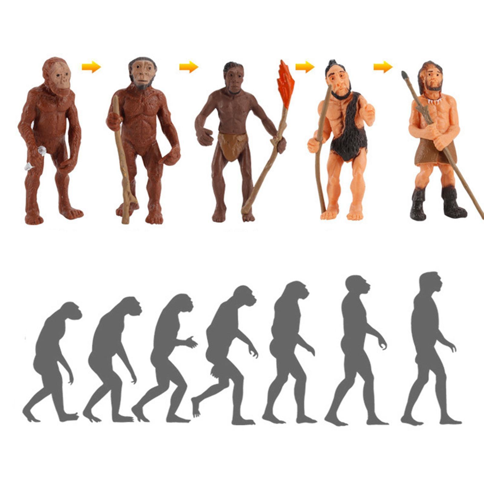 miniatura 18 - Simulazione PVC Human Evolution/Pianeta Modello Action Figure Bambini