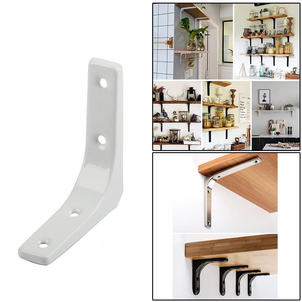 thumbnail 100 - Shelf   Floating Shelves Tripod Triangle Shelf Brackets for Bathroom