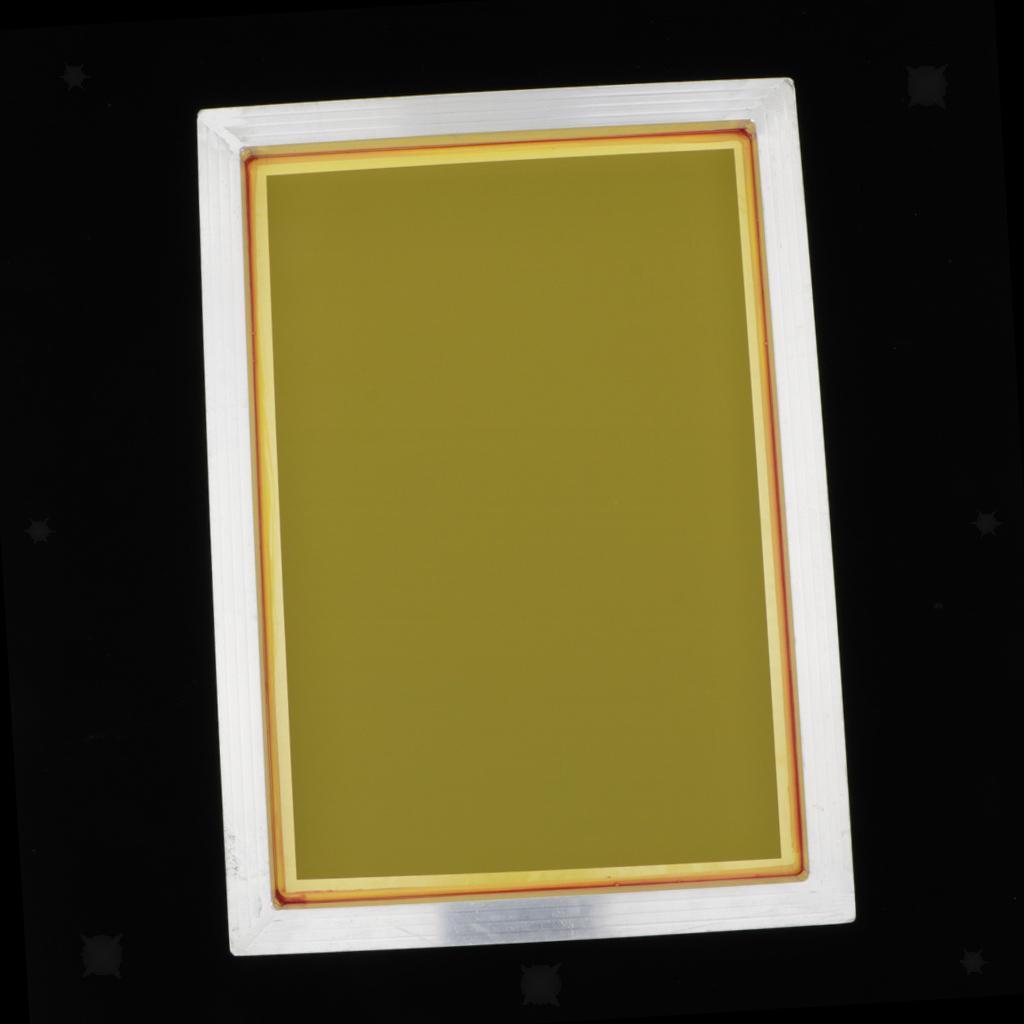 1-lot-Screen-Printing-Frame-Aluminum-Silk-Print-Polyester-Mesh-43-Mesh thumbnail 15