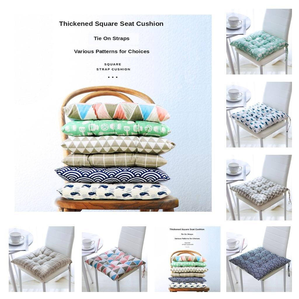 Square Thicken Soft Non-Slip Chair Cushion Garden Dining Kit