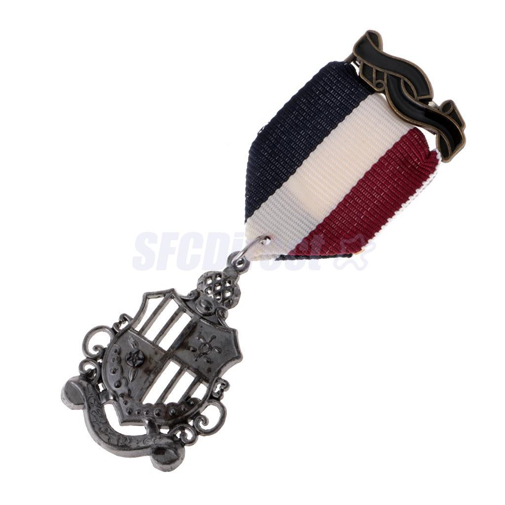 9-Styles-Men-039-s-Punk-Rock-Military-Uniform-Navy-Medal-Steampunk-Badge-Brooch-Pin thumbnail 3