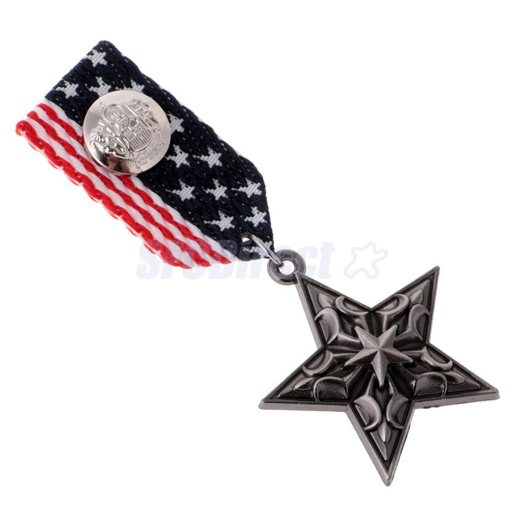 9-Styles-Men-039-s-Punk-Rock-Military-Uniform-Navy-Medal-Steampunk-Badge-Brooch-Pin thumbnail 26