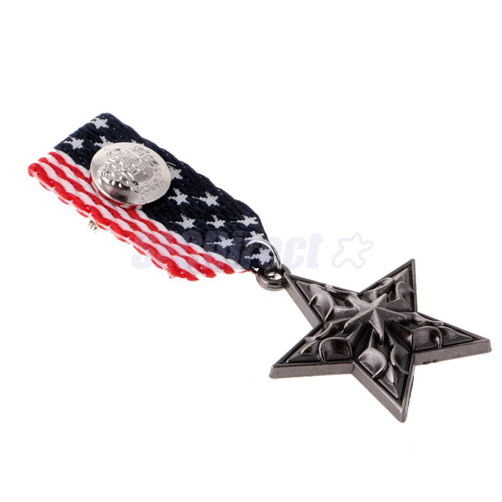 9-Styles-Men-039-s-Punk-Rock-Military-Uniform-Navy-Medal-Steampunk-Badge-Brooch-Pin thumbnail 28