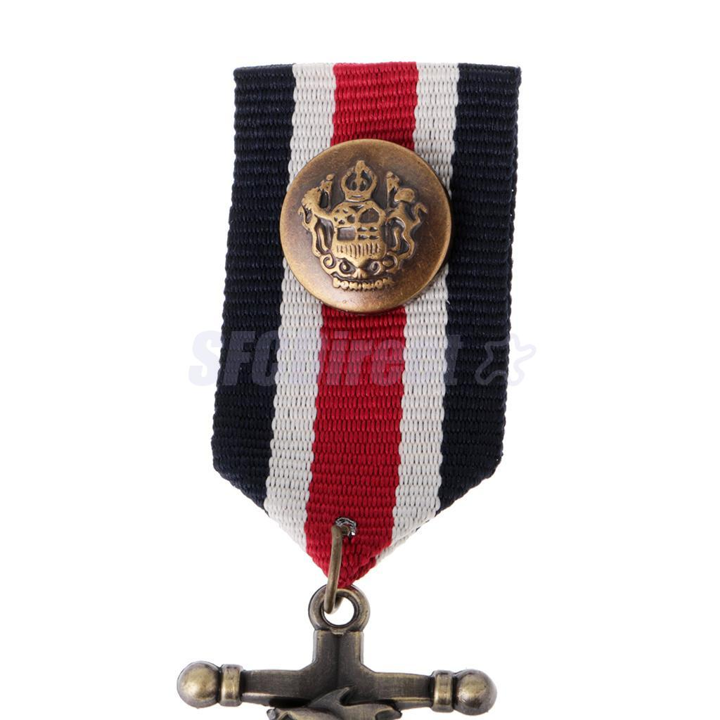 9-Styles-Men-039-s-Punk-Rock-Military-Uniform-Navy-Medal-Steampunk-Badge-Brooch-Pin thumbnail 32