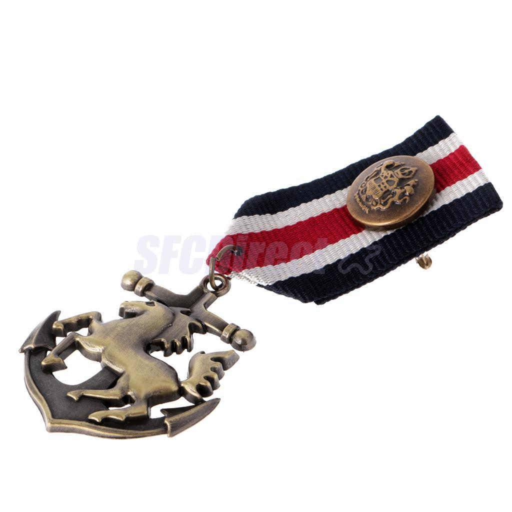 9-Styles-Men-039-s-Punk-Rock-Military-Uniform-Navy-Medal-Steampunk-Badge-Brooch-Pin thumbnail 34