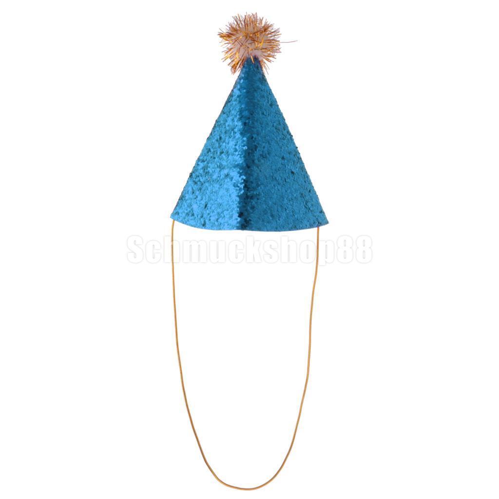Jungen Mädchen Baby Kinder Krone Happy Birthday Party Kegel Hut Fancy Dress