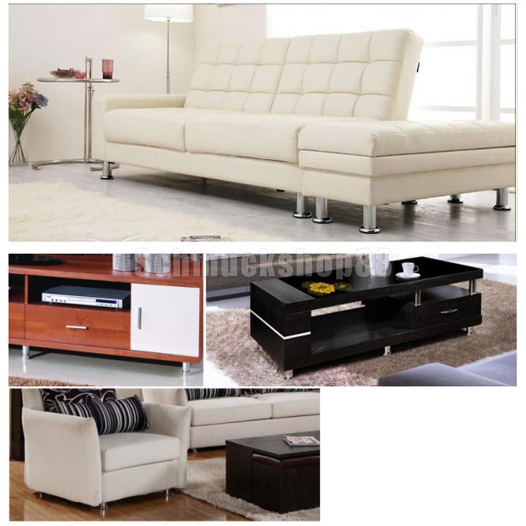 Metall Anti Feucht Möbel Bein Sockel Sofa Couch Stuhl Bett Schrank Bank
