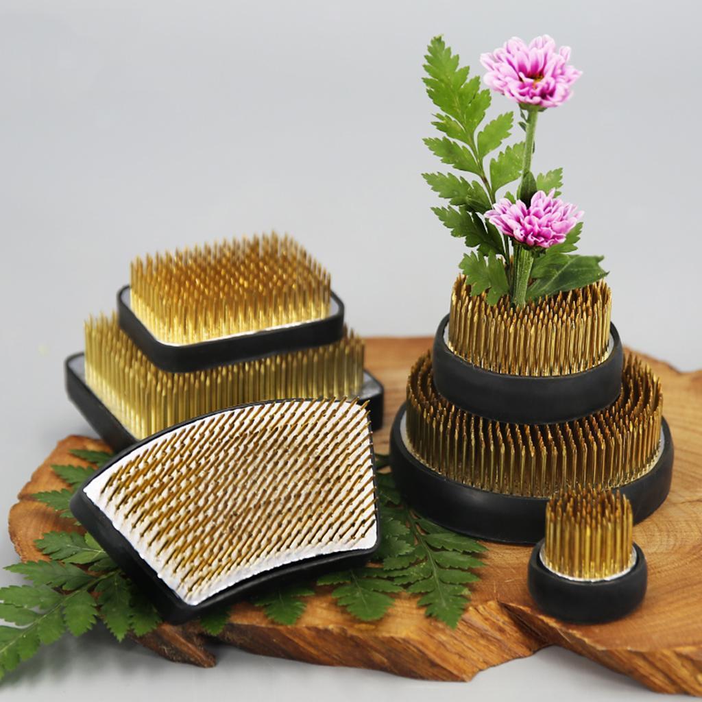 Ikebana-Kenzan-Spiky-Flower-Frog-Plant-Arranging-Fixed-Tool-Flower-Hobby thumbnail 15