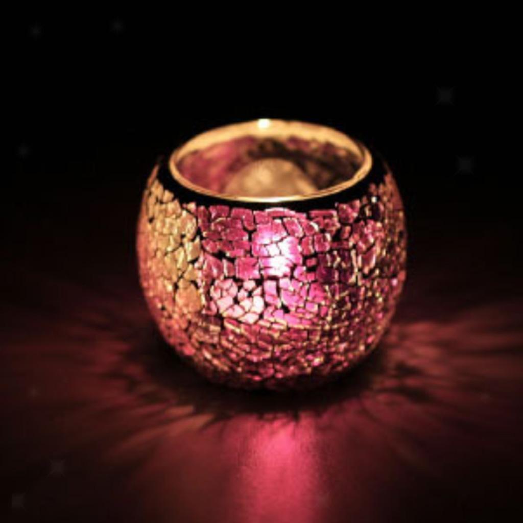 Assorted-Moroccan-Mosaic-Glass-Votive-Candle-Tea-Light-Candelabra-Candlestick thumbnail 6