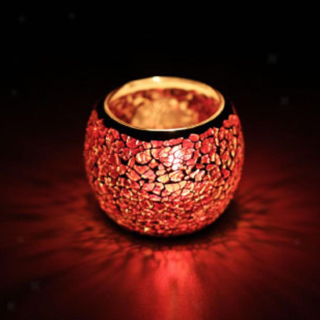 Assorted-Moroccan-Mosaic-Glass-Votive-Candle-Tea-Light-Candelabra-Candlestick thumbnail 18