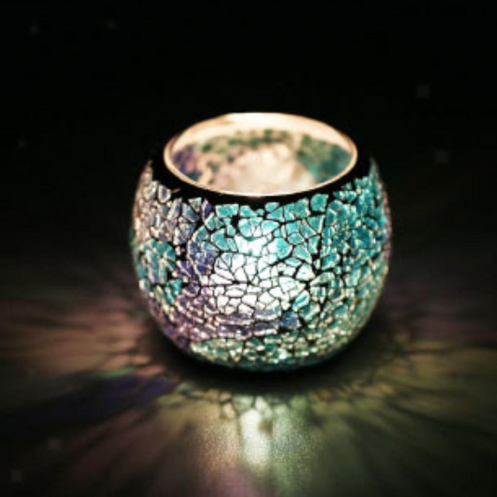 Assorted-Moroccan-Mosaic-Glass-Votive-Candle-Tea-Light-Candelabra-Candlestick thumbnail 22