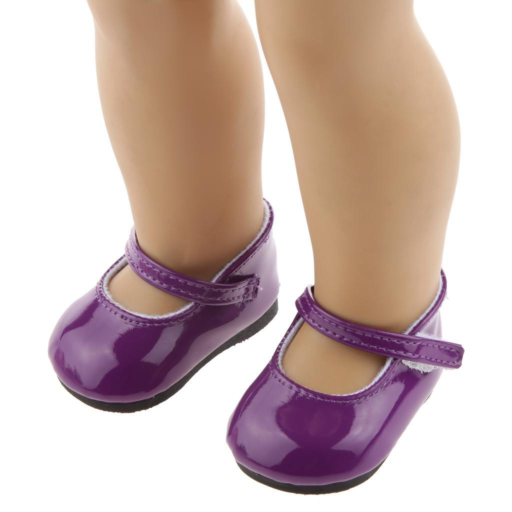 New-Cute-Pair-of-Doll-Shoes-for-18-039-039-American-doll-AG-Dolls-Clothes-Accessories thumbnail 76