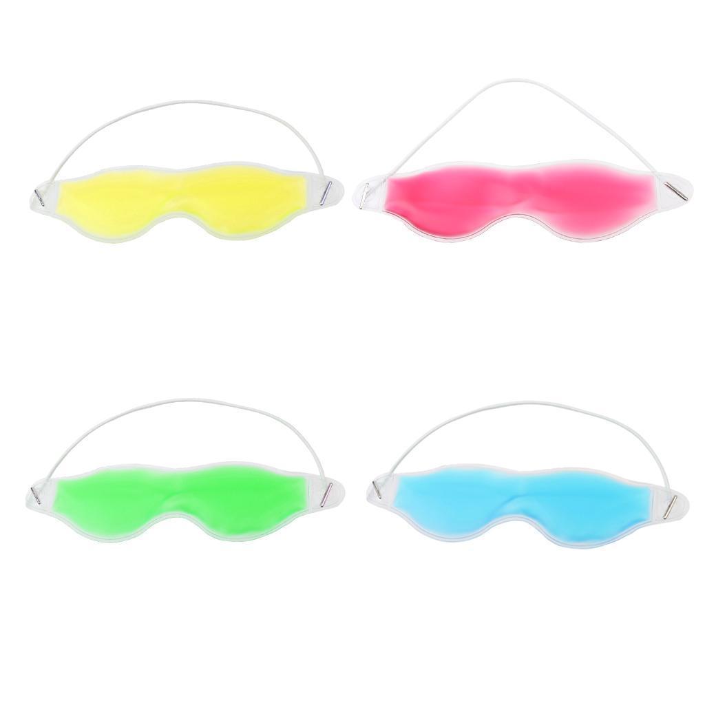 Kühl gegen Kopfschmerzen Müde Entspannen Augenmaske Schlafmaske Schlafbrille