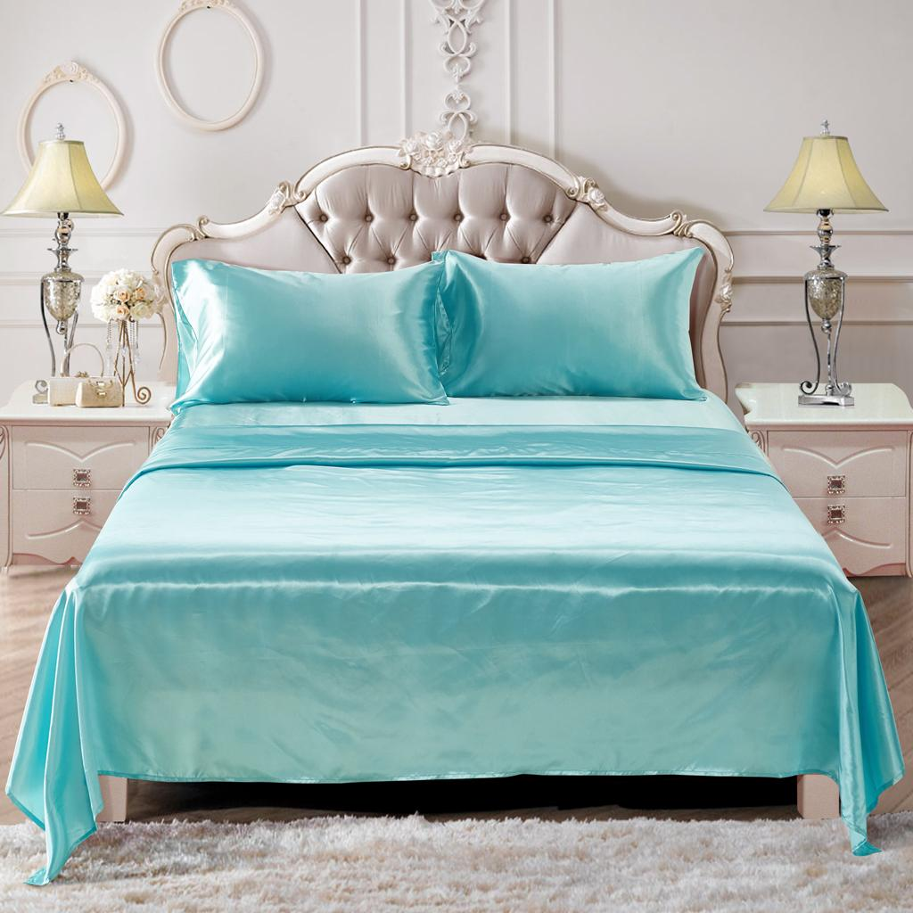 Comfort-Sheet-Set-Twin-Queen-King-Size-Bed-Flat-amp-Fitted-Sheet-amp-Pillowcases thumbnail 49