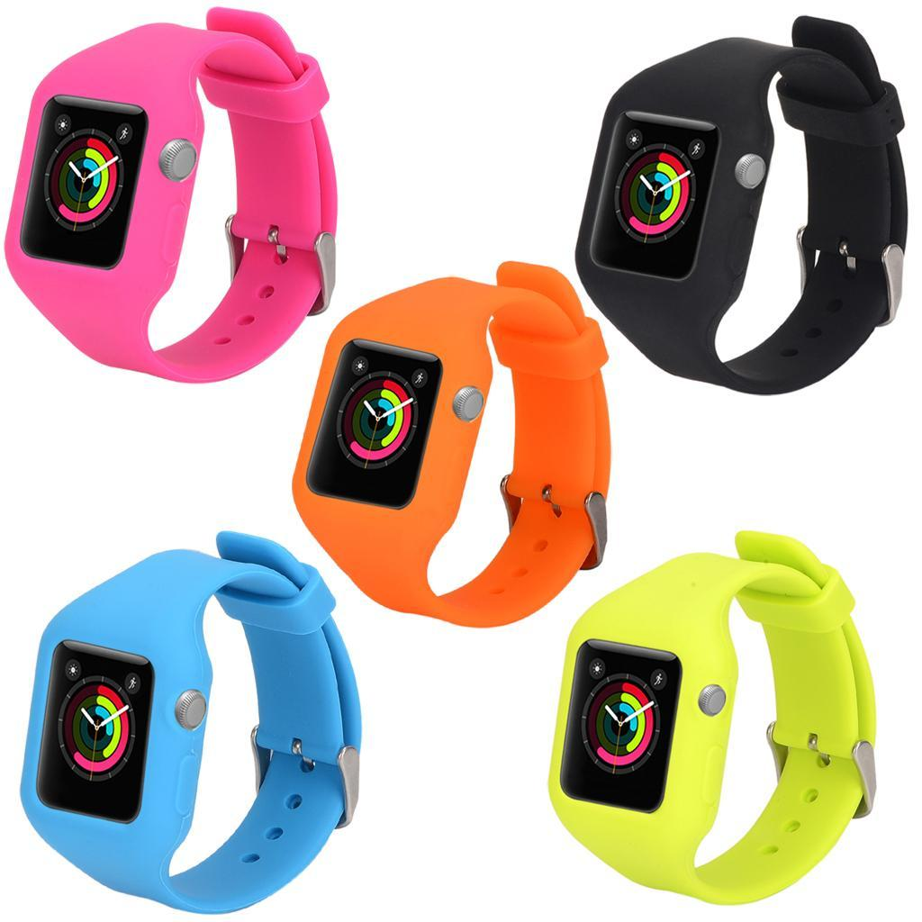 Protective Case With Strap Bands For42mm Apple Watch