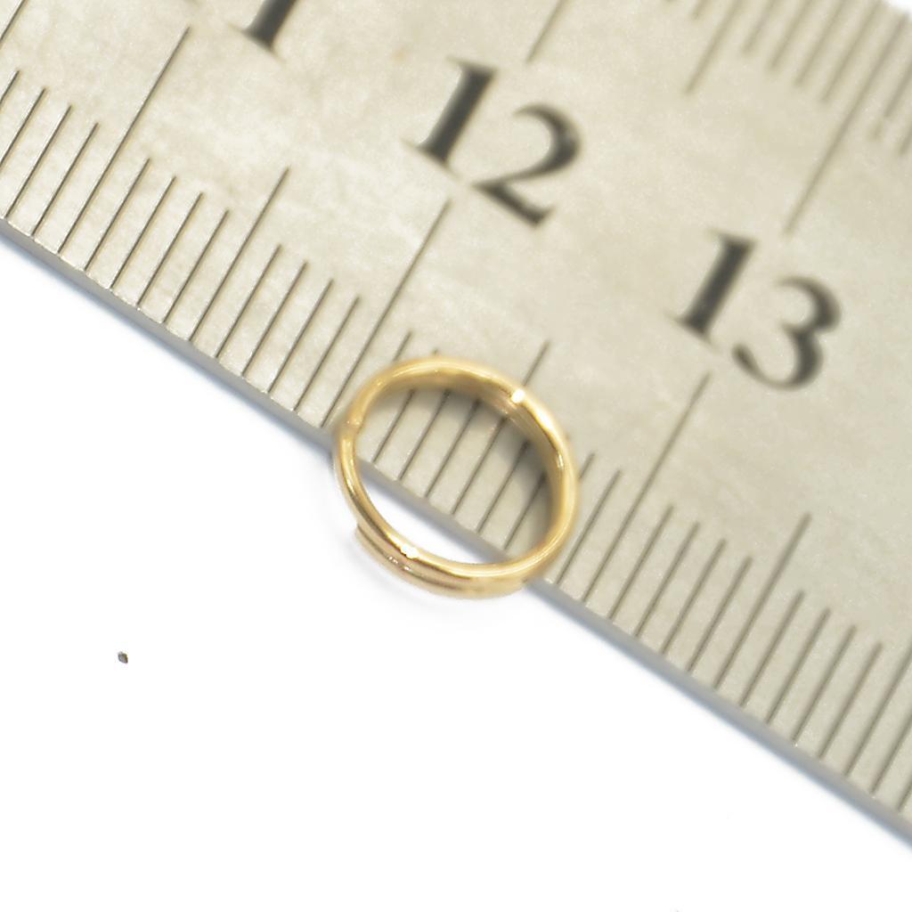 200pcs-Lot-Steel-Metal-Key-Split-Ring-Keyrings-Key-Chain-Findings-Making-6mm-8mm thumbnail 10