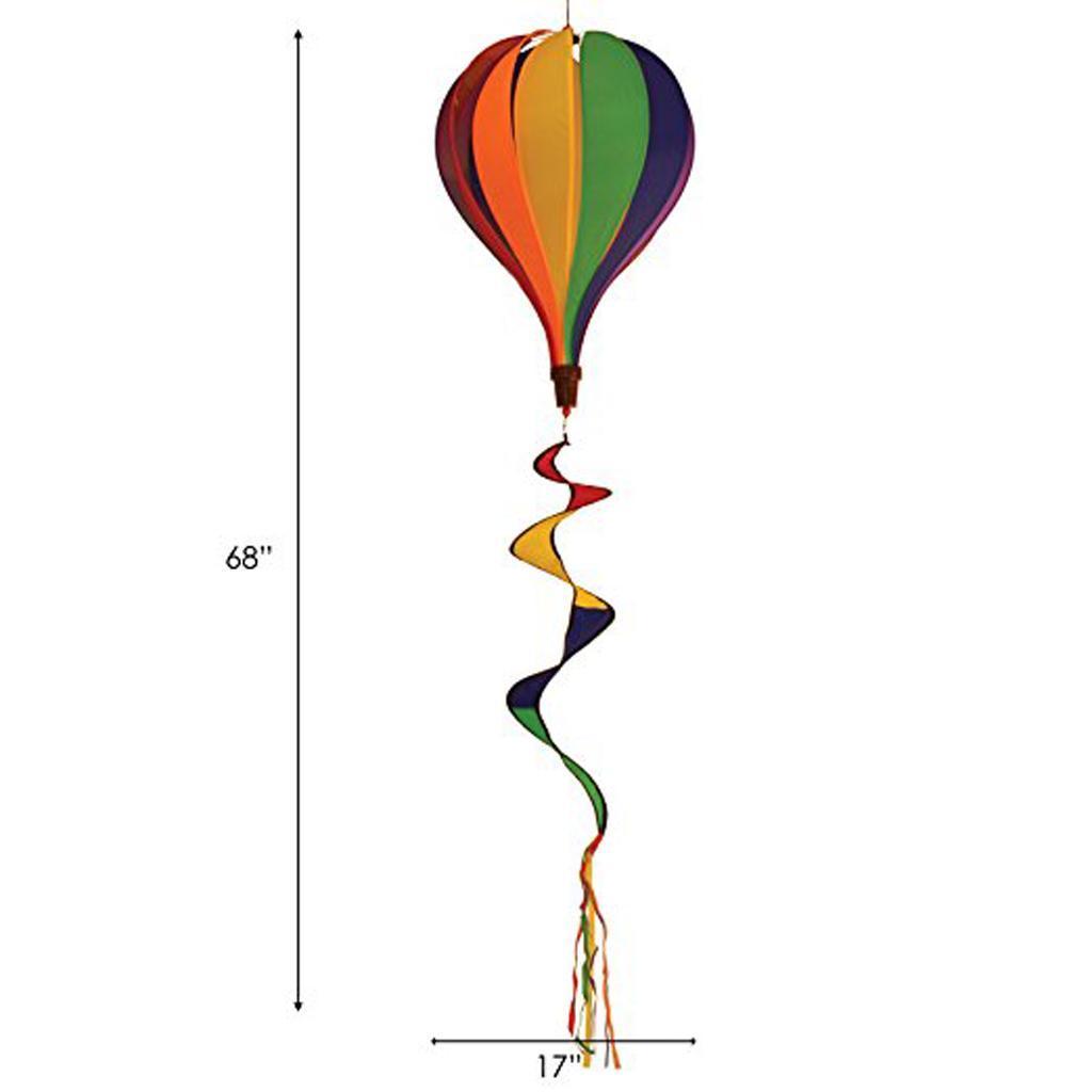 Rainbow-Windsock-Hot-Air-Balloon-Wind-Spinner-Garden-Outdoor-Tent-Festival-Decor thumbnail 27