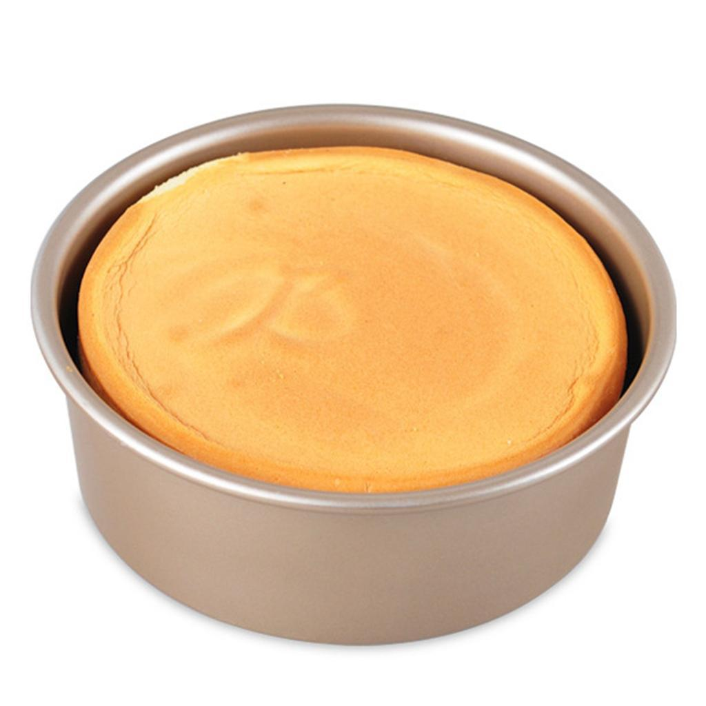 how to prepare a round ball tin for baking