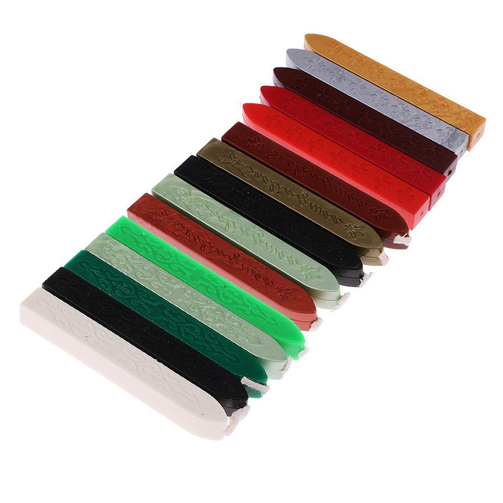 5 Pcs Manuscript Sealing Wax Sticks for Wedding Invitation Stamp ...