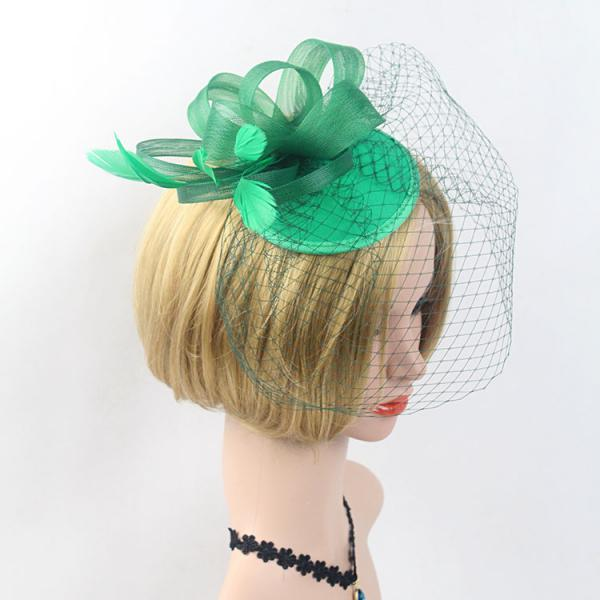 Women-Lady-Flower-Feather-Fascinator-Cocktail-Headband-Clip-Wedding-Party thumbnail 7