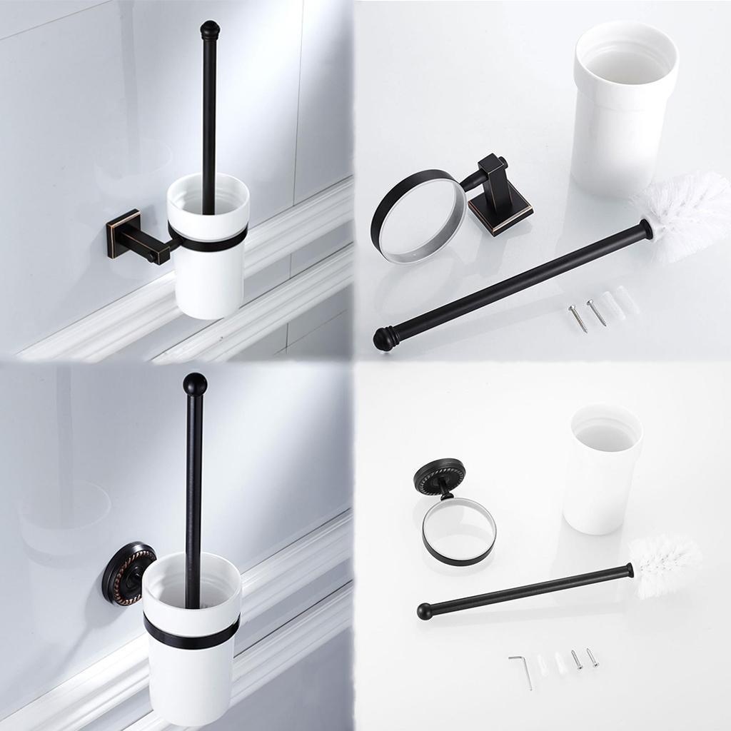 Modern Bathroom Accessory Set Towel Ring Bath Hareware | eBay