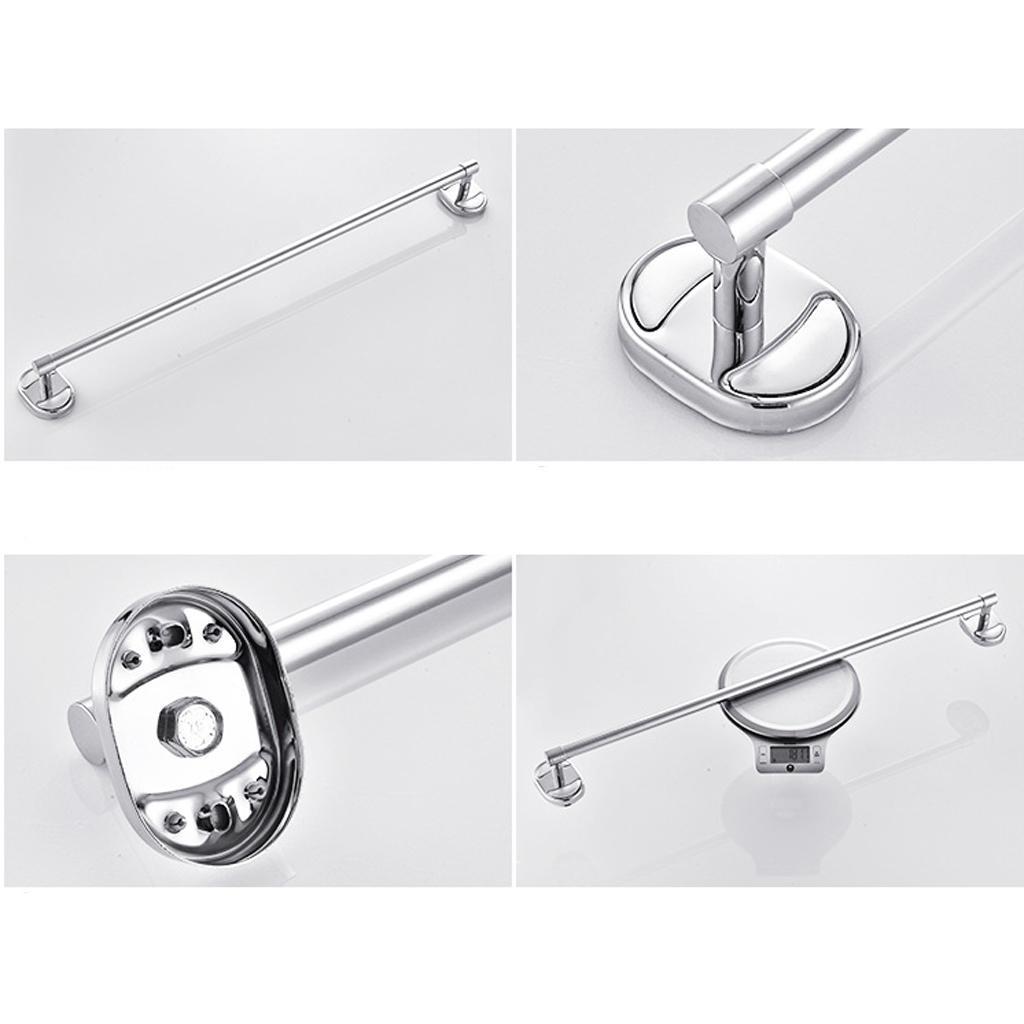 1 Set Stainless Steel Bathroom Accessories Paper Holder + Single ...