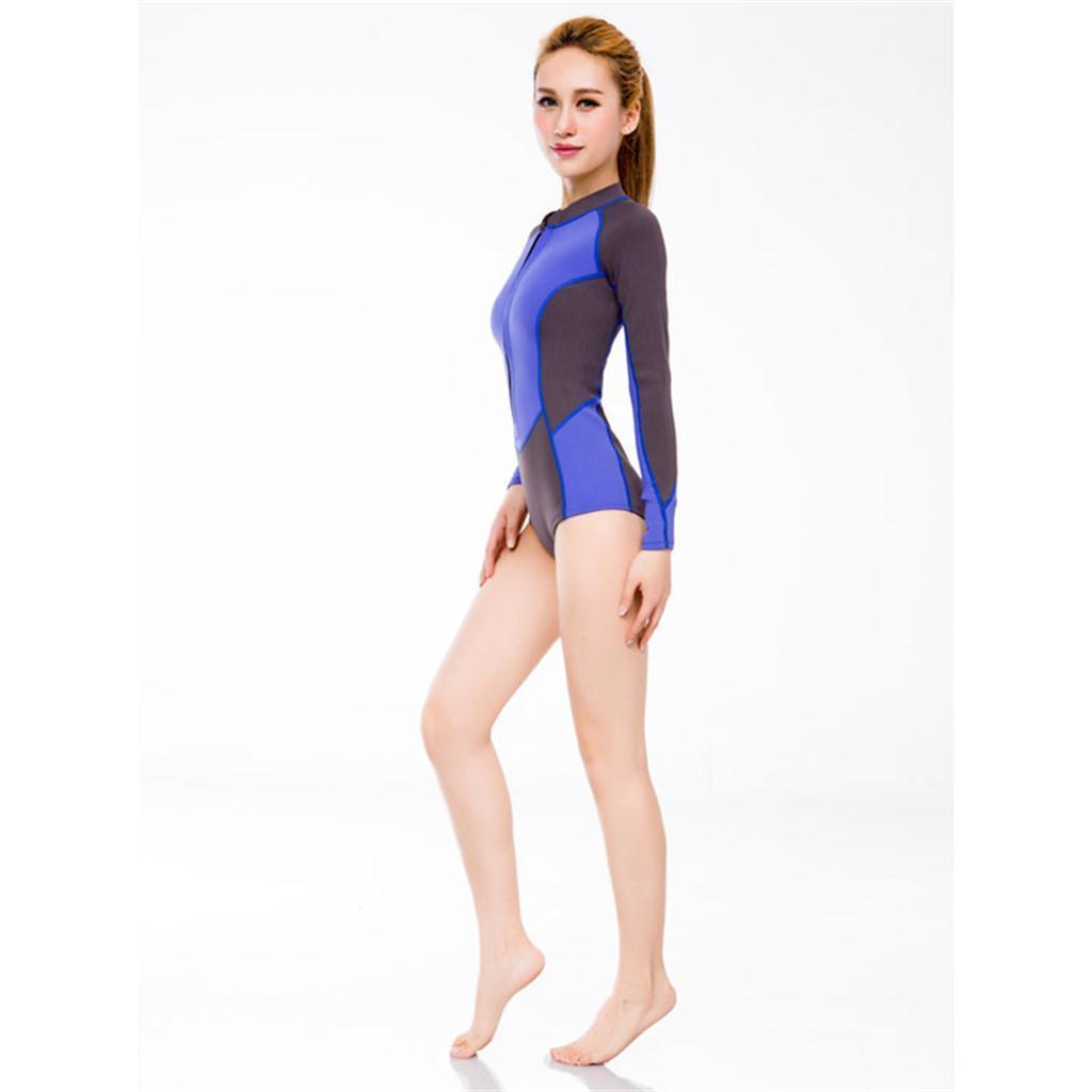 1c5cc856f7 2mm Neoprene Women Shorty Spring Suit Wetsuit Surf SUP Swim Snorkeling  Water Ski