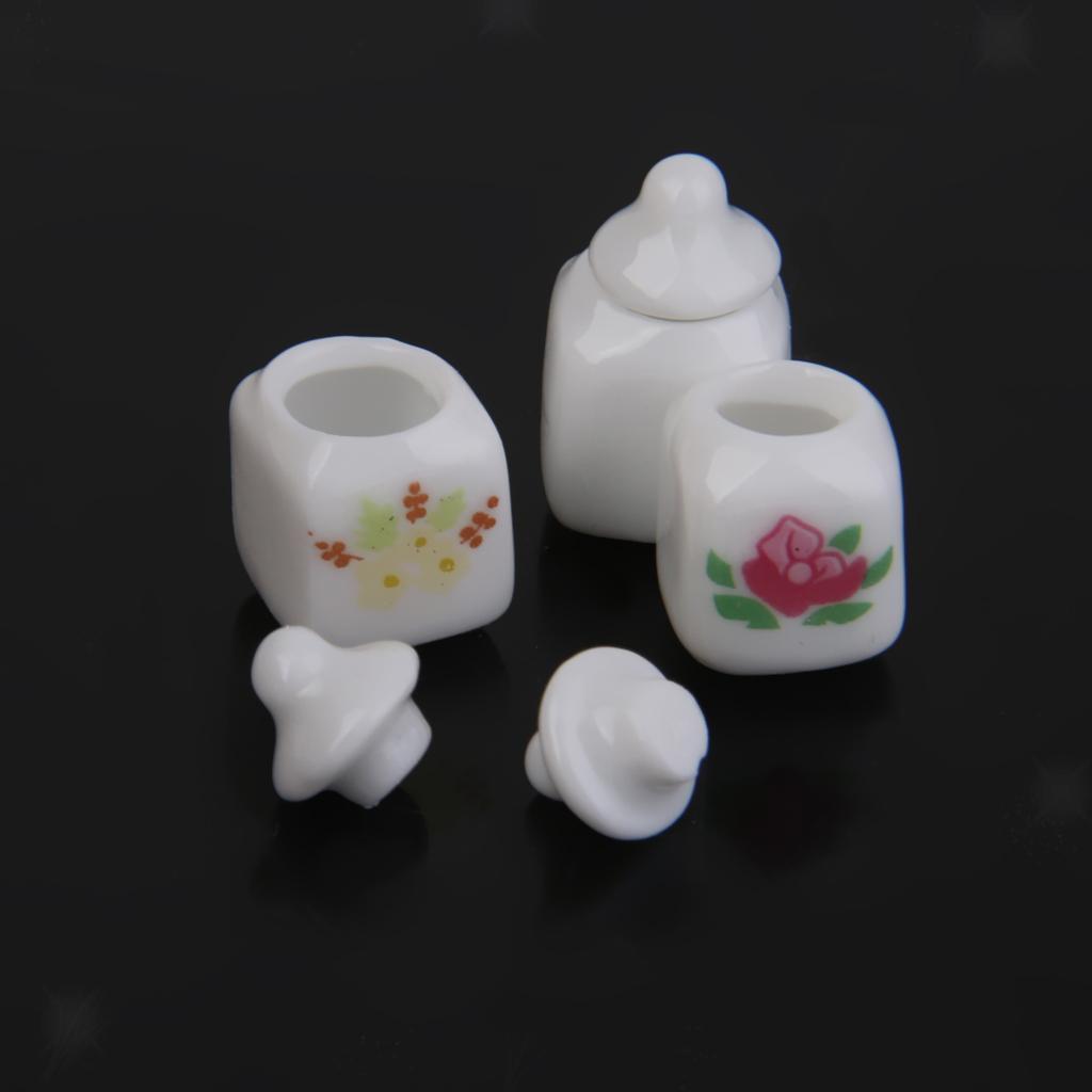 Dolls House White Cotton Mop fatto a mano in Miniatura Accessorio Cucina