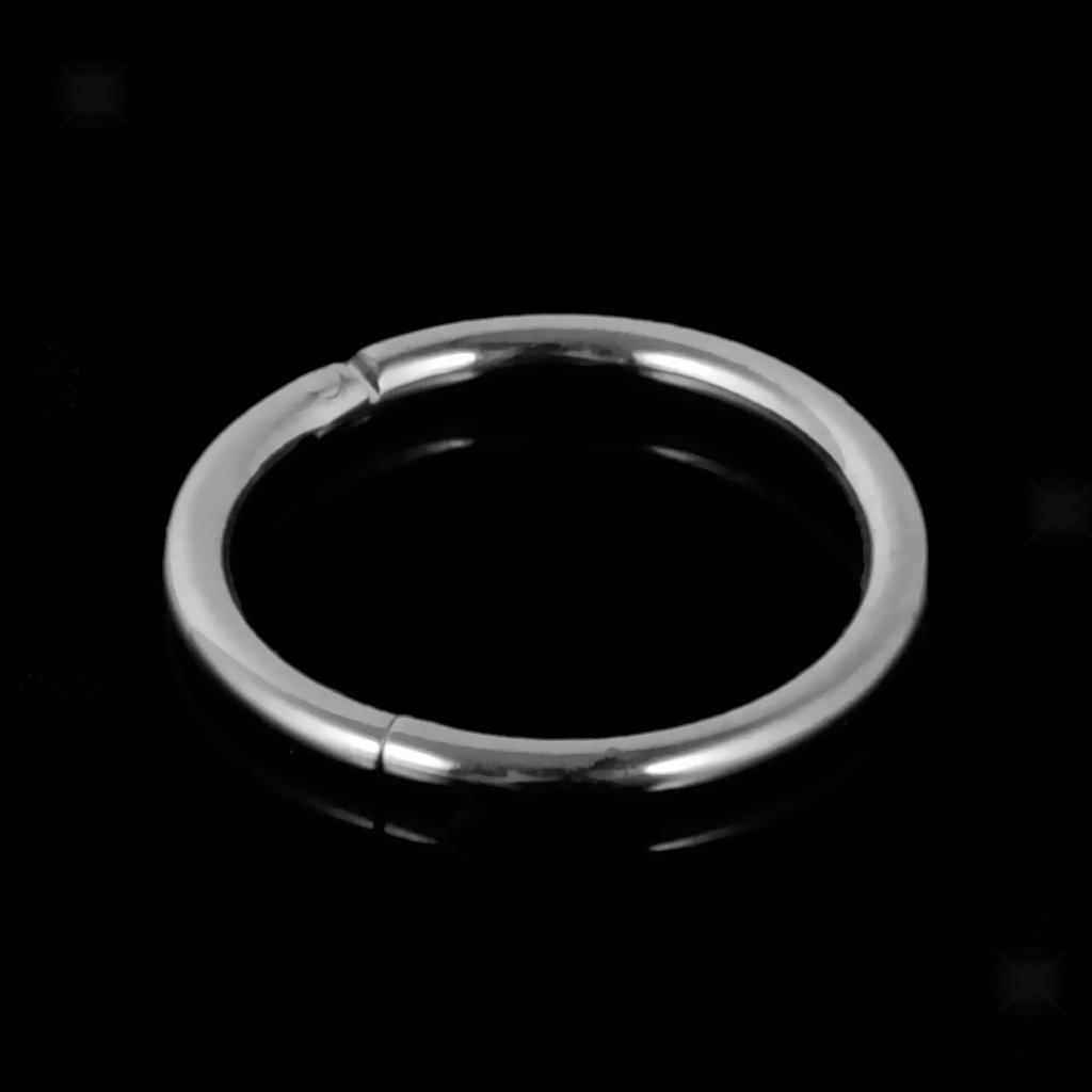 Stainless-Steel-14g-16g-Hinged-Clicker-Septum-Segment-Hoop-Ring-Ear-Lip-Nose thumbnail 19