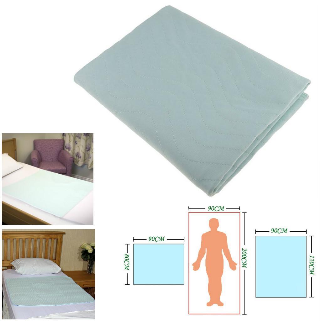 Waterproof Reusable Incontinence Bed Pad Sheet Mattress