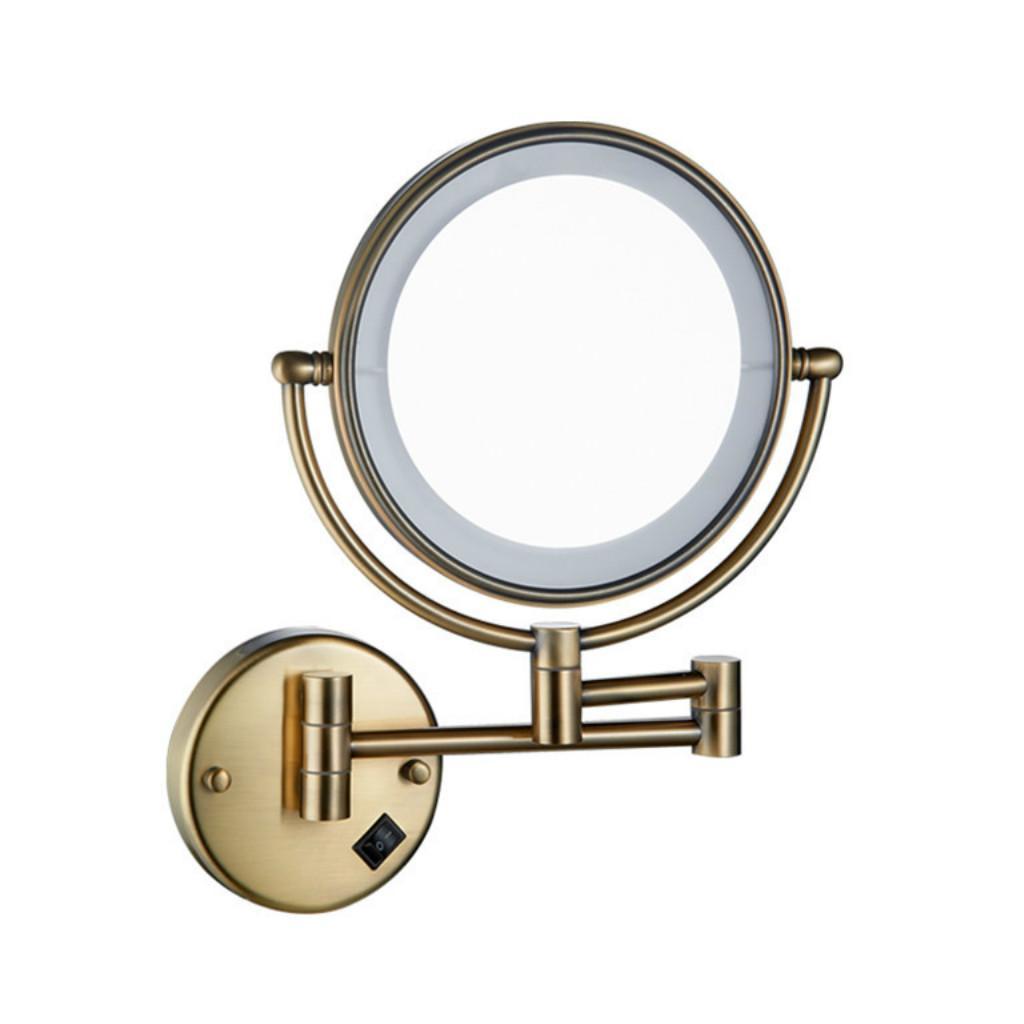 5x Magnifying Makeup Vanity Mirror Wall Mount Extending