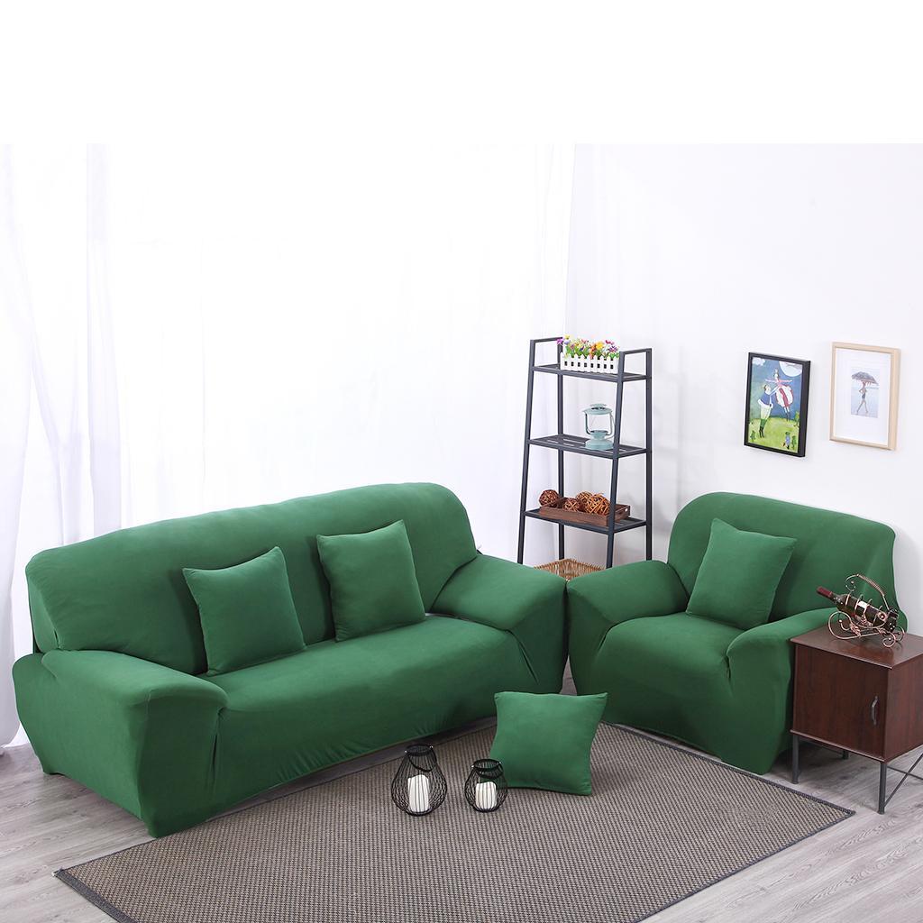 Housse-Couverture-Extensible-Spandex-Pour-Canape-Salon miniature 35