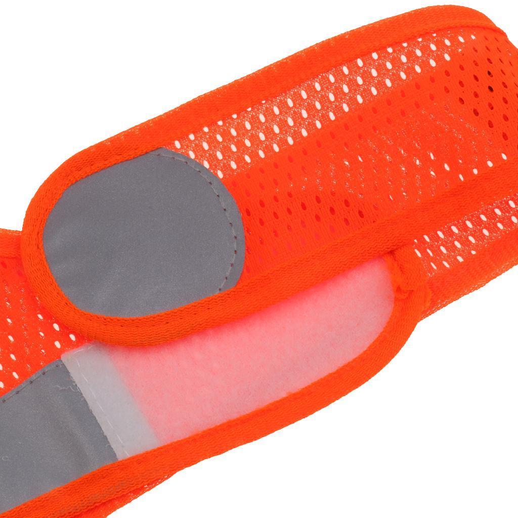 Veste-En-Tissu-Respirant-Gilet-Securite-Accessoire-De-Signalisation-Confortable miniature 8