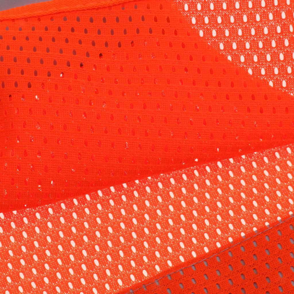 Veste-En-Tissu-Respirant-Gilet-Securite-Accessoire-De-Signalisation-Confortable miniature 11