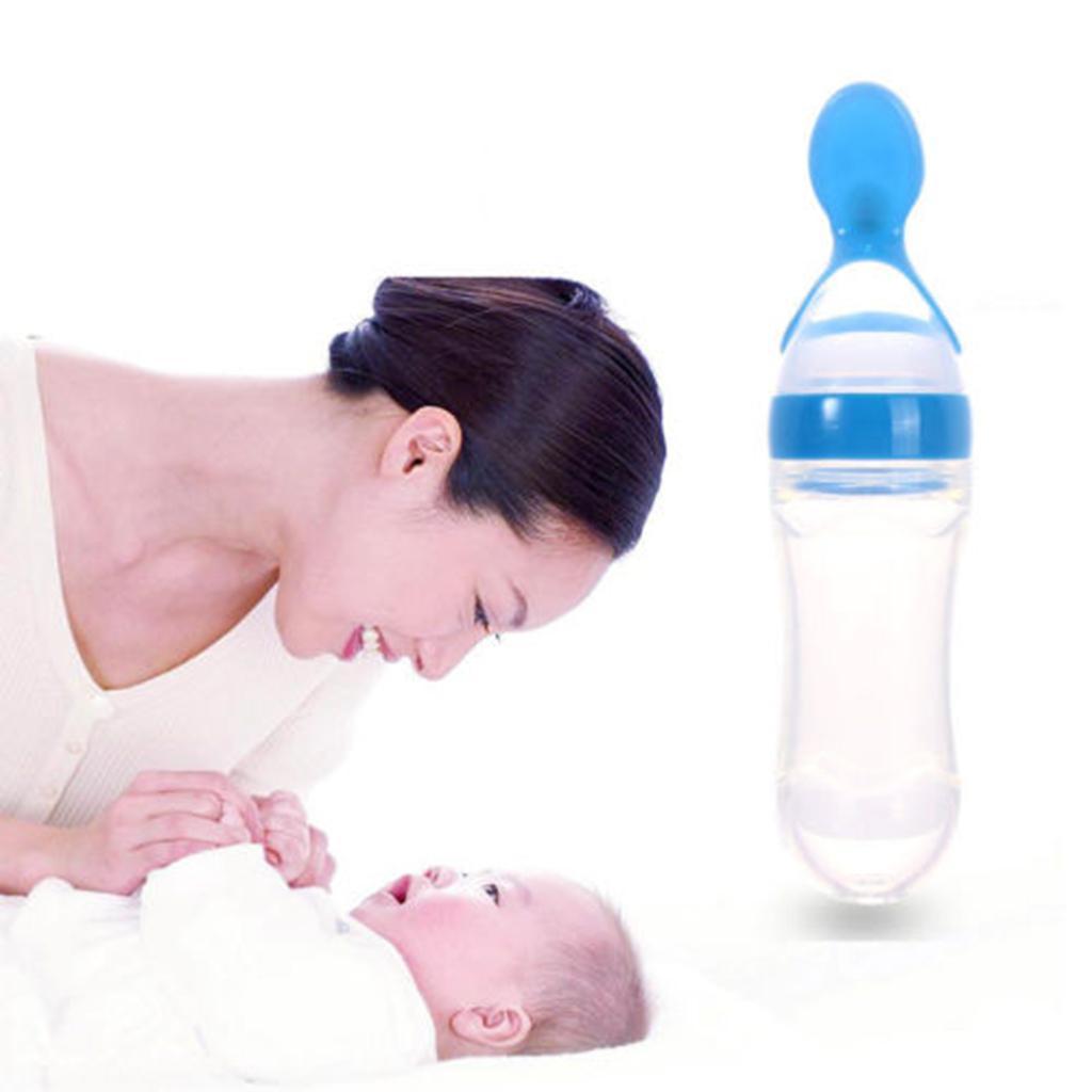 Biberon-Cuillere-Bebe-Squeeze-Feeder-Pour-Nouveau-ne-et-Sevrage-6-mois miniatura 23