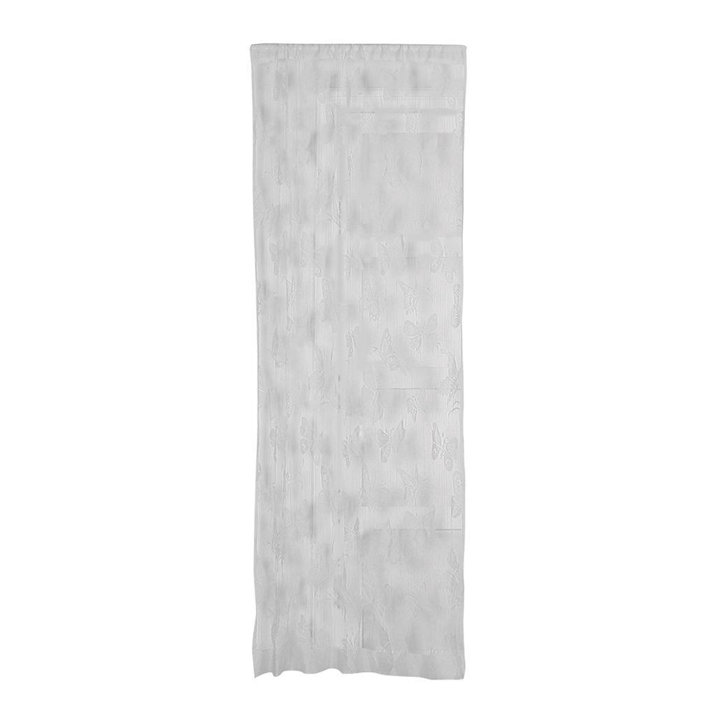 Papillon motif voilage rideau en voile pour d co de fen tre blacon 2x1m ebay - Voile pour fenetre ...