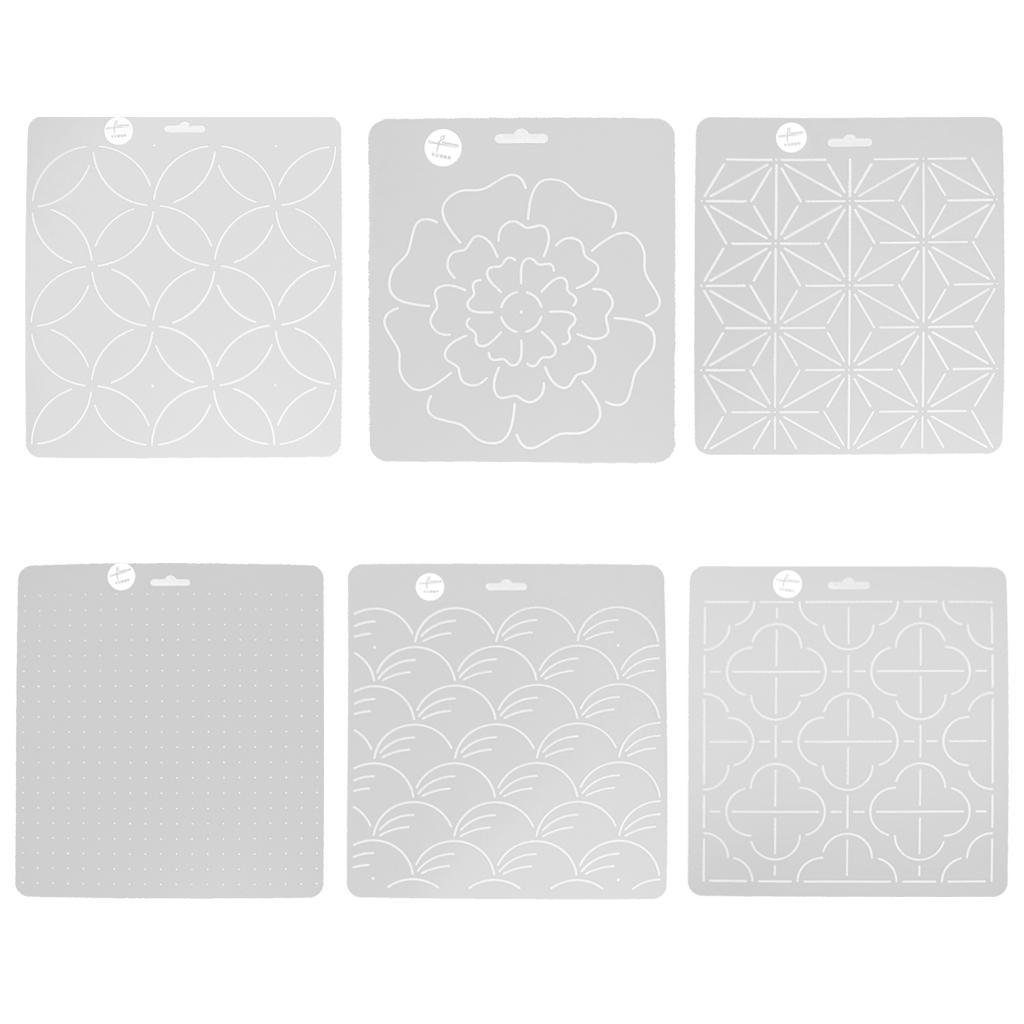 DIY Plastic Quilting Stencil Template Tool for DIY Patchwork Sewing ...