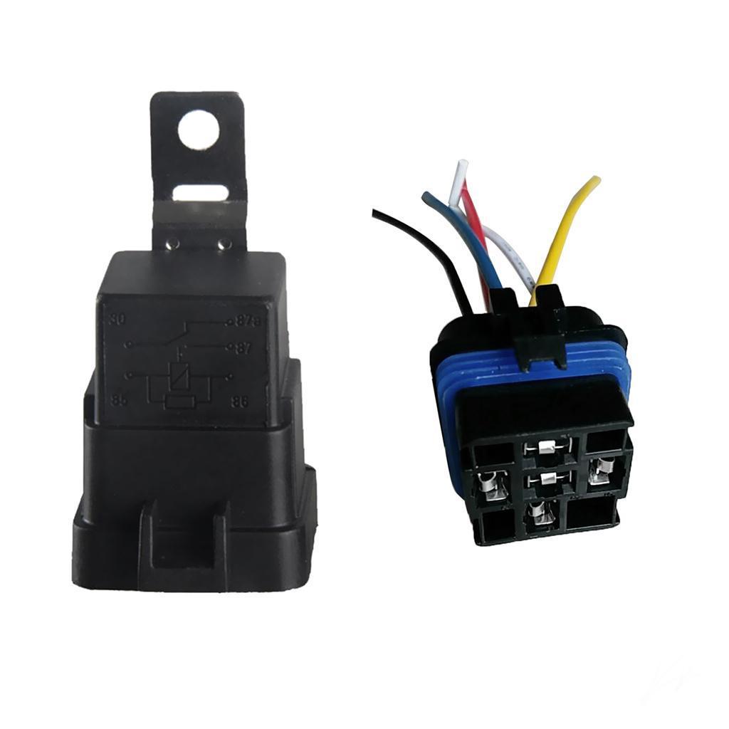 24v di luce spdt automobile dispositivo di controllo auto relay 4pin 5pin 12v