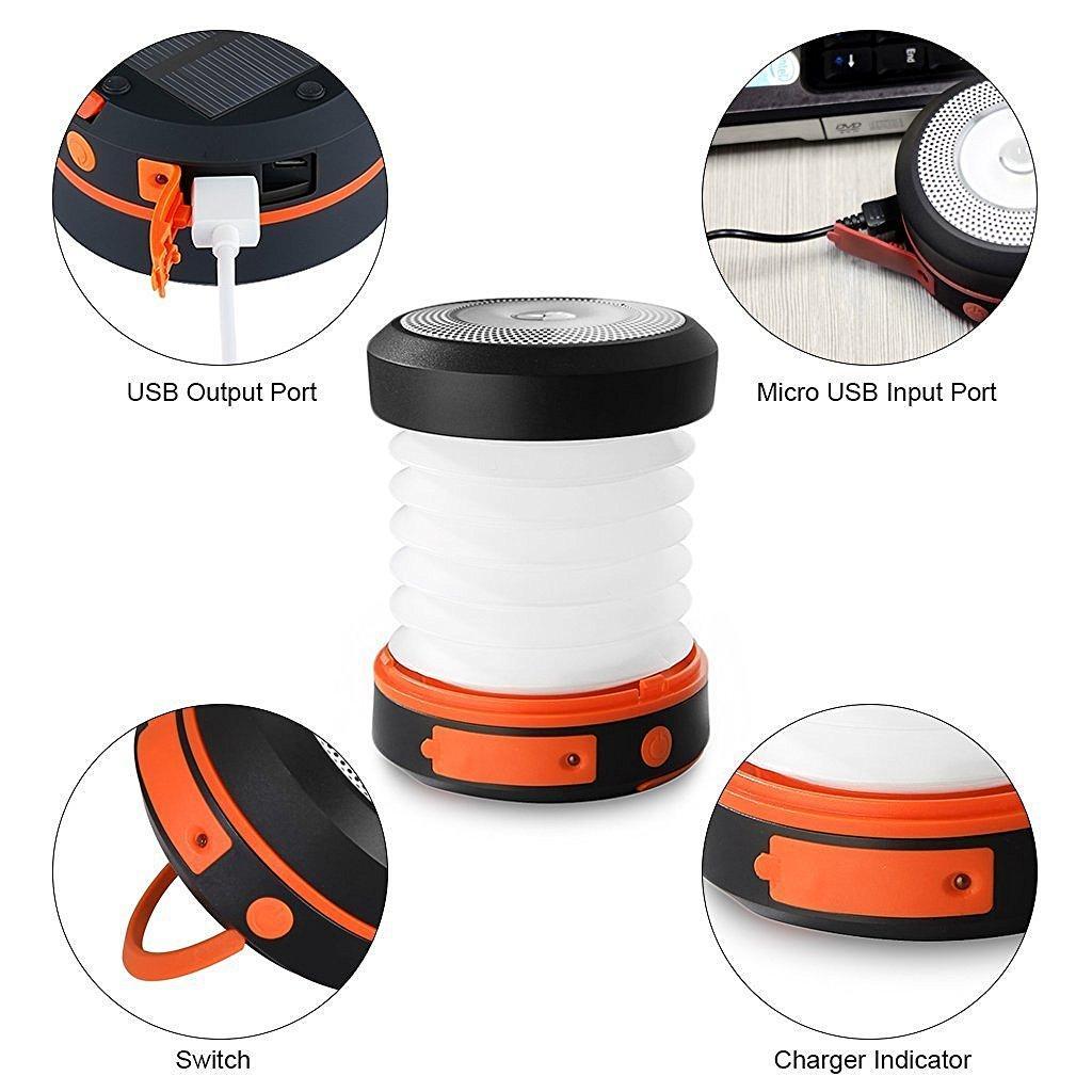 Pannello Solare Con Lampadina : Lampada led con pannello solare luce lampadina per