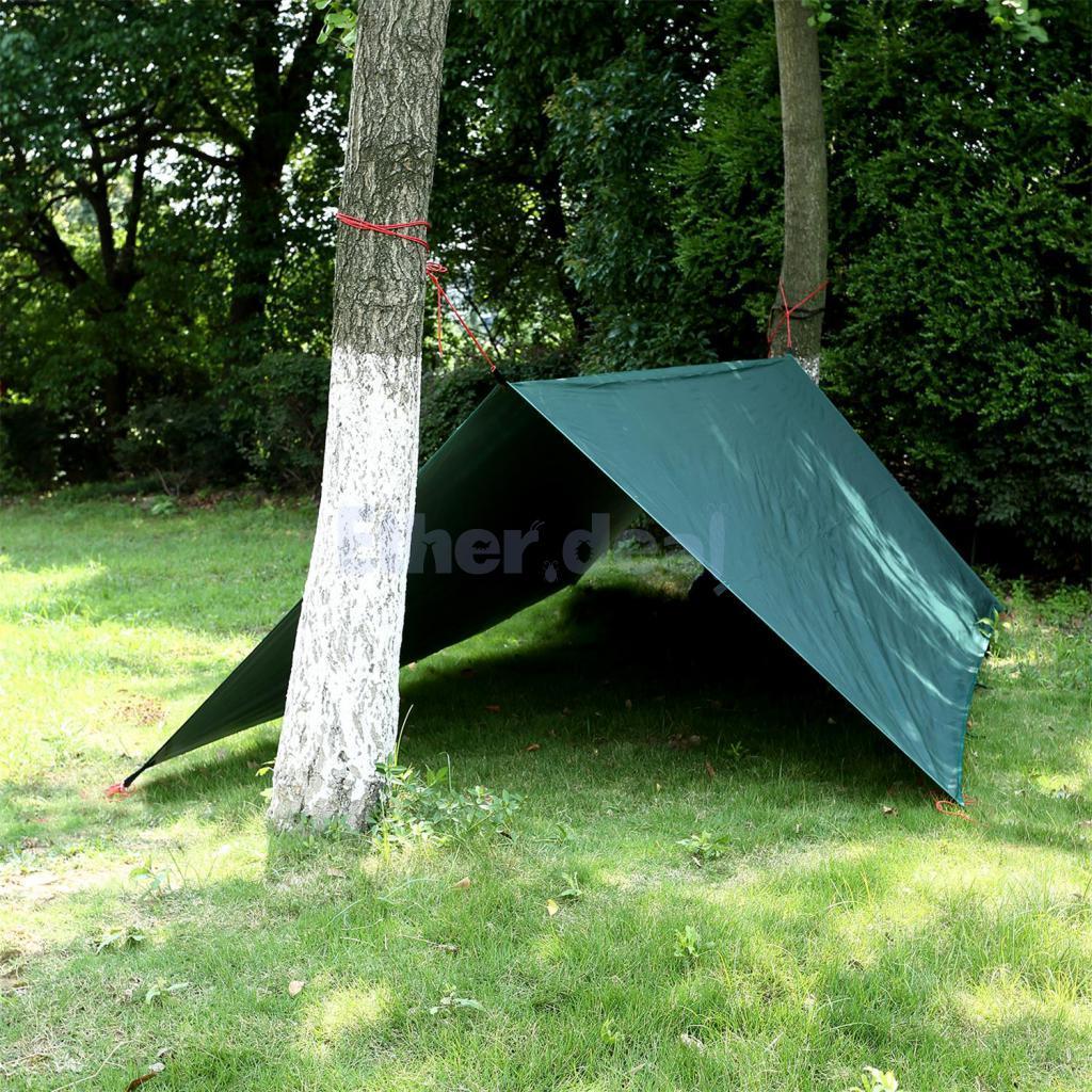 Outdoor Impermeabile Tenda Tenda Tenda TELONE prossoezione solare da campeggio Tenda Spiaggia Tenda Tarp 03dfd2
