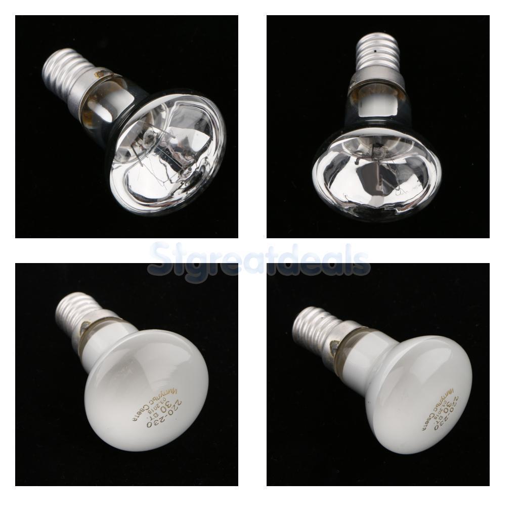 25w r39 clear reflector spot lights lava lamp bulb small. Black Bedroom Furniture Sets. Home Design Ideas