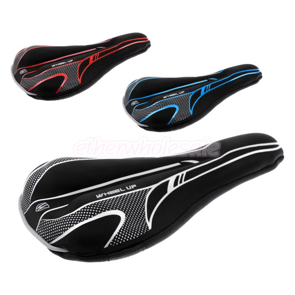 Gel Or Memory Foam Bike Seat Cover Velcromag Rockbros Bicycle Saddle Silicone Cycle Mtb