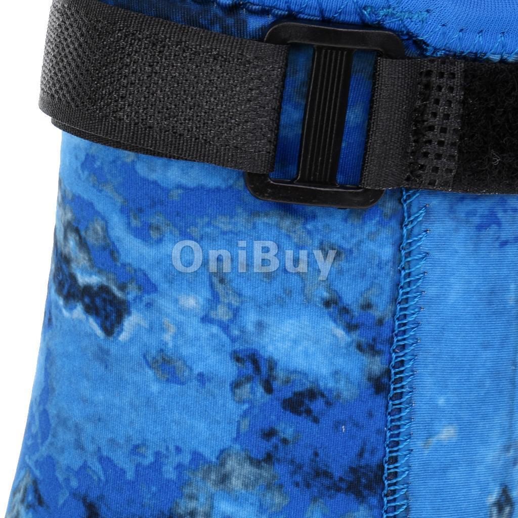 3mm-Neoprene-Scuba-Diving-Surfing-Swimming-Socks-Snorkeling-Boots-Wetsuit-Blue thumbnail 8