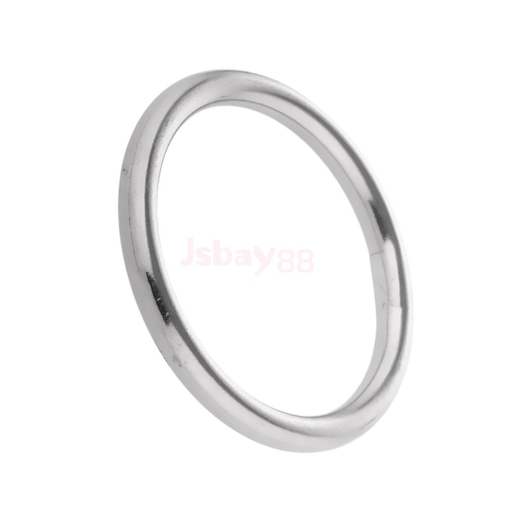304 Stainless Steel O Rings 1 to 2inch Diameter 0.12 to 0.35inch ...