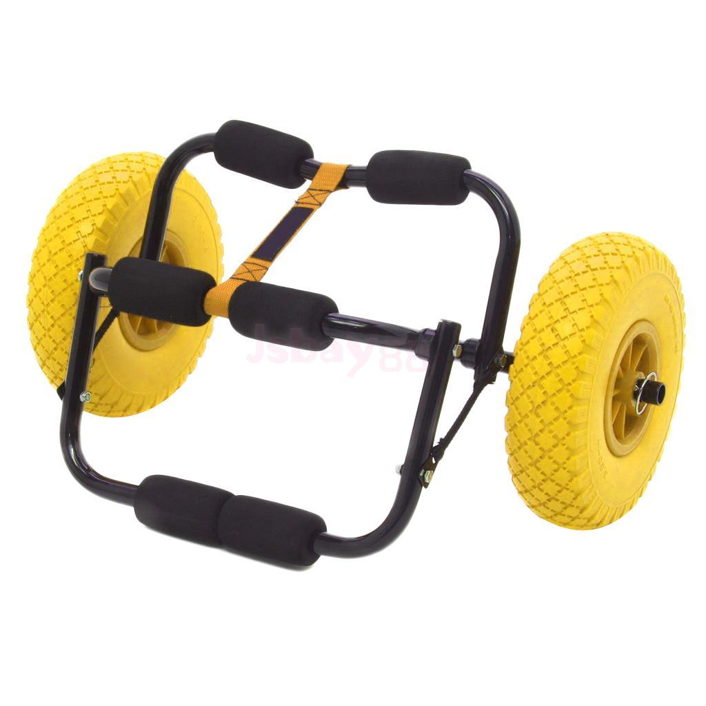 """8/"""" Puncture-proof Tire Wheel for Kayak Canoe Trolley Cart Replacement Tire S0B8"""