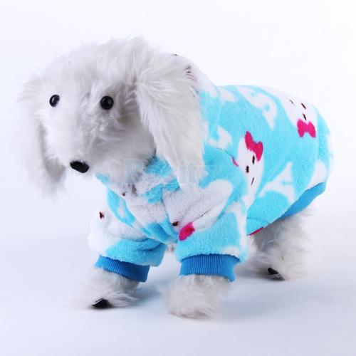 Pet Dog Puppy Hoodie Coat Warm Hooded Clothes Apparel Winter Summer