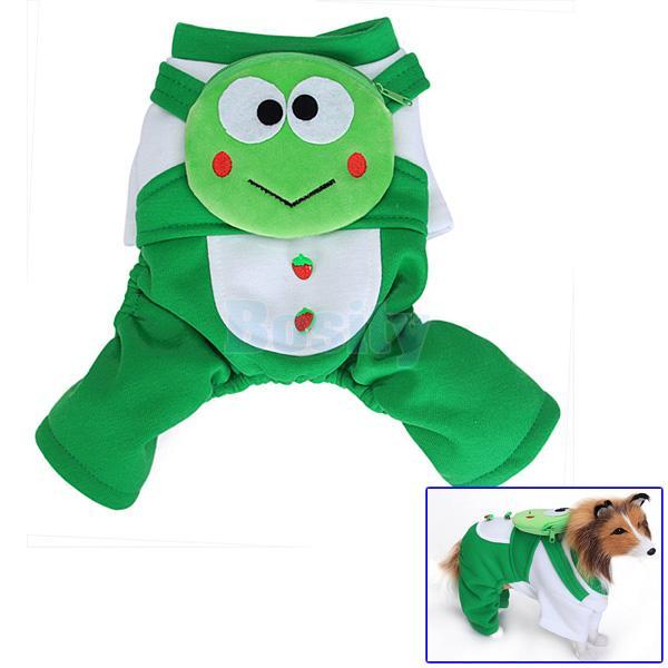 Pet Dog Cute Clothes Jumpsuit Hoodie Hooded Coat Jacket Apparel+