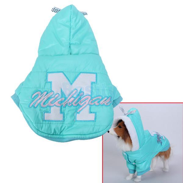 Puppy Pet Dog Hoodie Hooded Winter Coat Jacket Nylon taffeta Warm